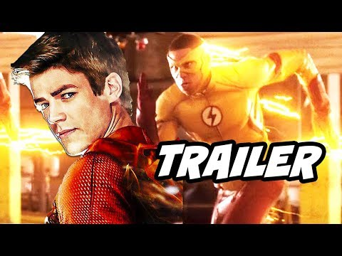 The Flash 4x10 Promo - The Trial of The Flash and Arrow Funny Crossover thumbnail
