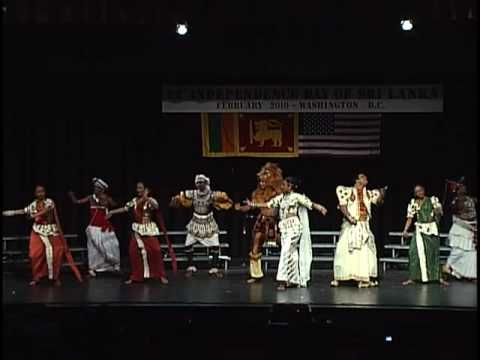 Channa Upuli Dance Group In Washington Dc, Sri Lanka Matha Dance video