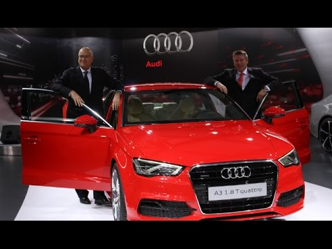 Audi Launches A3 – Its Cheapest Sedan, Built Entirely In India