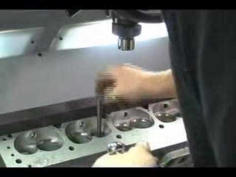 Valve Seat and Guide Machine Center