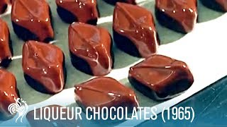 Making Liqueur Chocolates: Boozy Sweet Treats (1965) | British Pathé