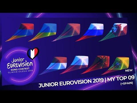 Junior Eurovision 2019 | My Top 09 (So Far) | (+Spain