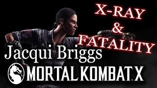 Jacqui Briggs - X-RAY And FATALITY - Mortal Kombat X