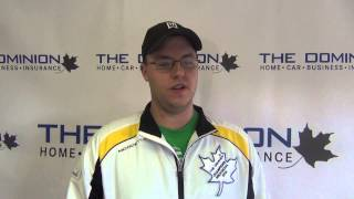 Draw 3 Interviews from The Dominion Curling Club Championship 2012