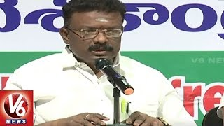 Congress Leader Dasoju Sravan Demands For BC Census | Hyderabad