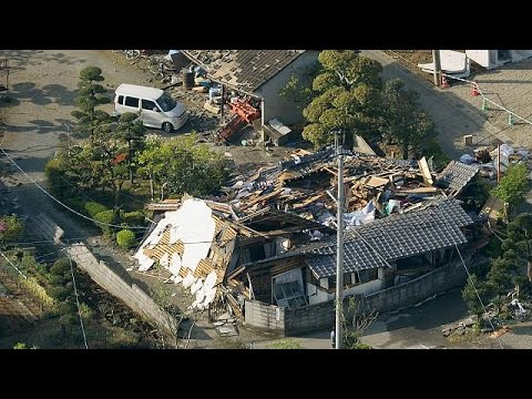 Japonya'da deprem zinciri