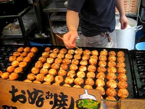 Speed Takoyaki in Osaka