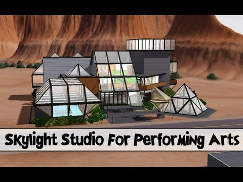 The Sims 3 Store : Skylight Studio for the Performing Arts Overview & Review