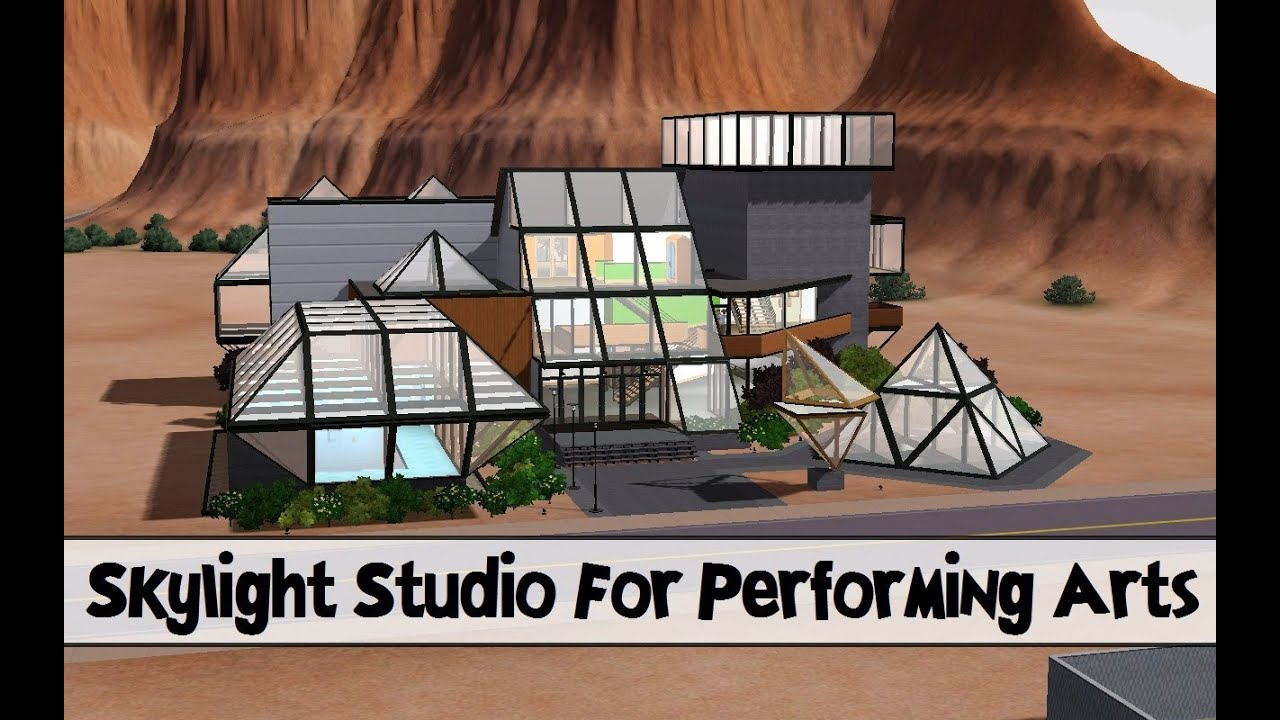 the sims 3 store skylight studio for the performing arts