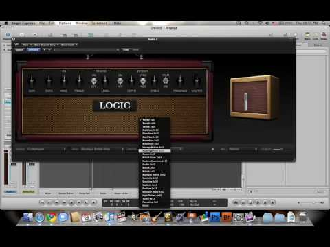 Logic Express 9 Basic Tutorial Part 1
