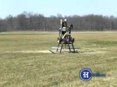 Vertipod 2 test flight