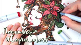 My Art Was Featured By COPIC! ~ #CopicColors November 2018 - MissKerrieJ -