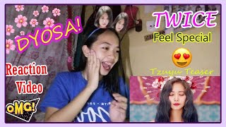 TWICE 'Feel Special' TEASER TZUYU | REACTION !!! (Philippines)