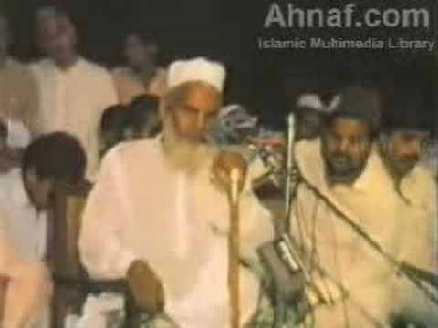 Qari Haneef Multani Urdu Bayaan - Blind Imam Awesome!!!! video