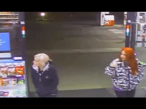Stupid Armed Robber sends 2 Un-Mask  girl scouts in  twice - Caught on CCTV June 2013 HD 720p720