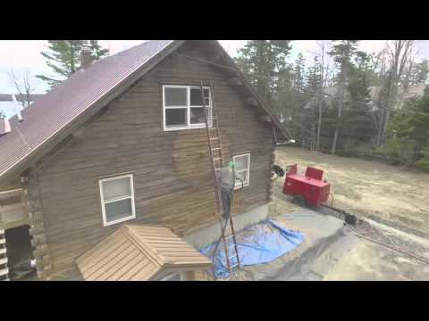 Black Bear Media Blasting and Construction - Drone Footage Part 1