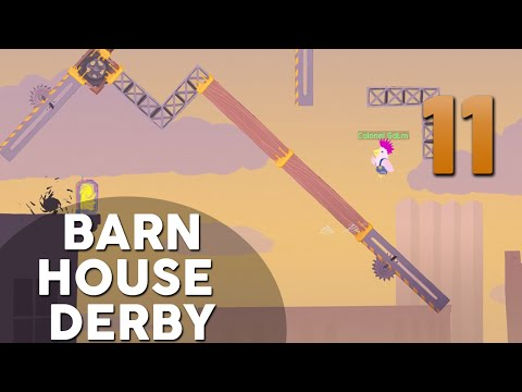 [11] Barn House Derby (Let's Play Ultimate Chicken Horse w/ GaLm and friends)