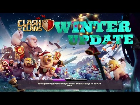 Clash of Clans Winter Update: Full Review | Level 7 Giants | Collectors level 12 | Gameplay