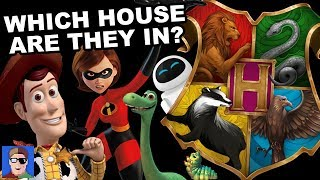 J vs Ben vs Brizzy: Sorting Pixar Characters Into Hogwarts Houses