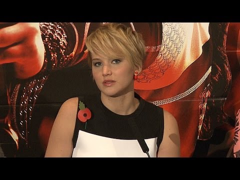 The Hunger Games: Catching Fire - London Press Conference Part 1 Of 2 (Jennifer Lawrence)