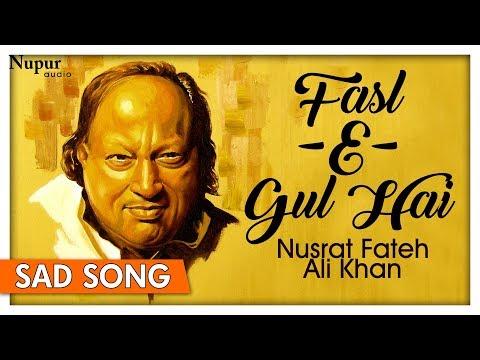 Fasl - E - Gul Hai Sharaab Pii Leejiye   Ustad Nusrat Fateh Ali Khan   Popular Qawali   Nupur Audio