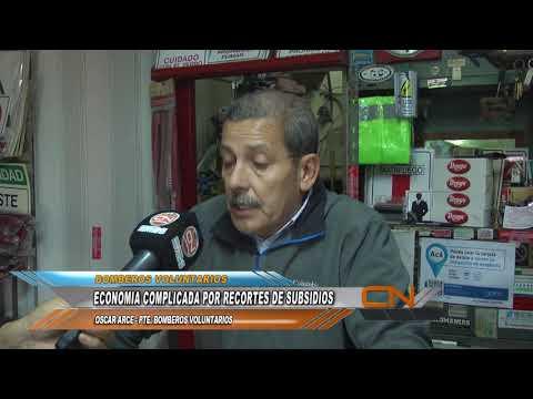 Recorte de subsidios a Bomberos Voluntarios de Concordia