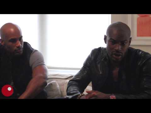Boris Kodjoe and Tyson Beckford talk their first sexual crushes, escapes and 'Addicted'
