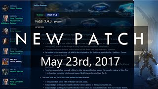 StarCraft 2 - PATCH NOTES May 23rd, 2017