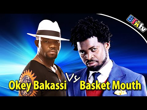 Okey Bakassi Vs Basket Mouth In Warri Comedy video