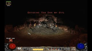 Diablo II: Den of Evil, 01 (Hell difficulty, Barbarian 66 lvl) Blizzard Entertainment, 2000