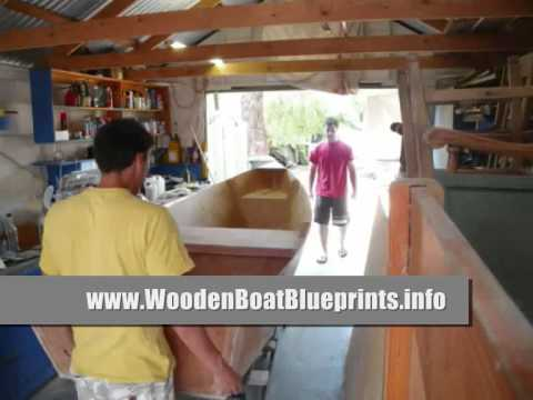 Wooden Boat Blueprints and Boat Building Plans