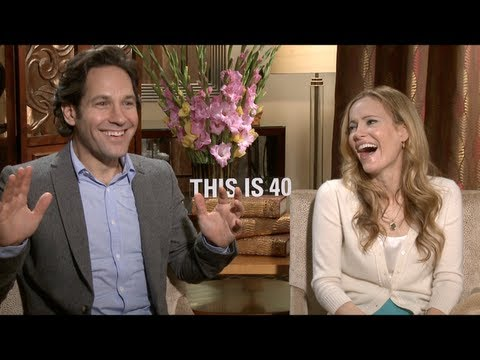 Paul Rudd and Leslie Mann Interview for THIS IS 40
