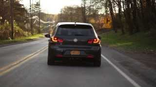 VW Golf R with APR RSC turbo-back exhaust