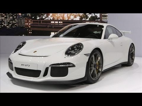 Porsche CEO on the New 911 GT3 - New York Auto Show