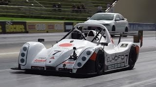 ELMOFO 10 SEC SREV ELECTRIC RACE CAR AT SYDNEY DRAGWAY 18.4.2015