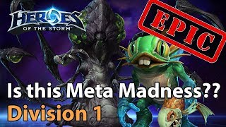 ► EPIC Heroes of the Storm: Is this Meta Madness??? - Heroes Lounge