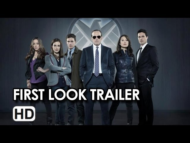 Marvel Agents of S.H.I.E.L.D. First Look Trailer HD