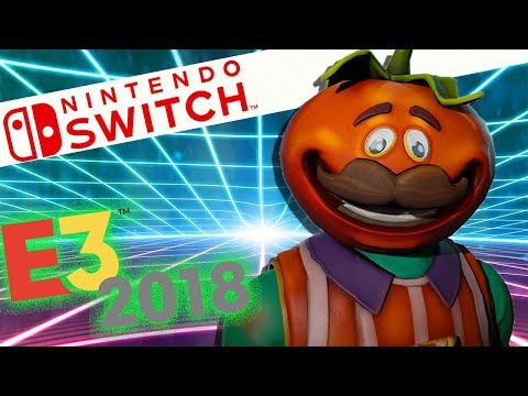 Fortnite Coming To Nintendo Switch and More E3 Reveals