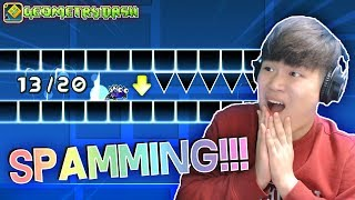 I'M JITTERCLICK MASTER! | [#3] DORAMI vs INSANE CHALLENGES! | Geometry Dash [2.11]