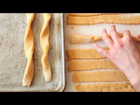 Palitos de queijo assados