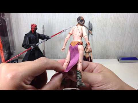 Star Wars Black Series Princess Leia Slave Outfit Toy Review