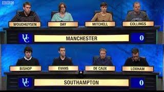 University Challenge S43E33 Manchester vs Southampon
