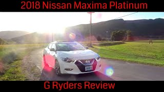 2018 Nissan Maxima Platinum Review | I WAS WRONG ABOUT THIS CAR!!!