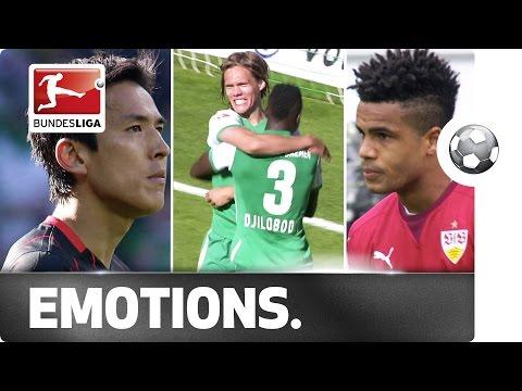 Contrasting emotions at the bottom of the table - Stuttgart down, Bremen safe, Frankfurt nervously