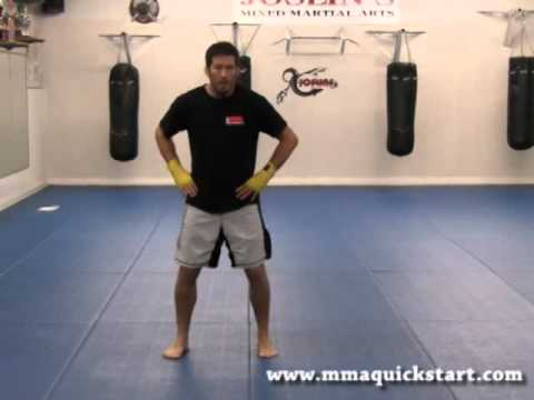 Beginner MMA - Basic Punching (T-Frame Motion) Image 1