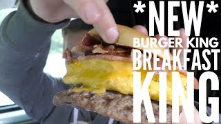 *NEW* Burger King Breakfast King Review
