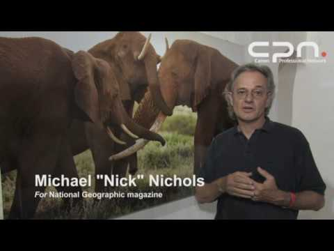 Canon CPN - Michael Nichols Elephants The Roots of Heaven