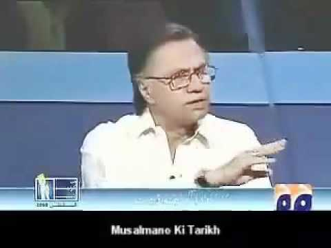 Lies of foolish ZAID HAMID exposed by real educated Hasan Nissar.flv