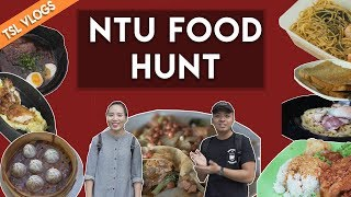 SEARCH FOR THE BEST UNI FOOD: NANYANG TECHNOLOGICAL UNIVERSITY | TSL Vlogs