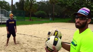 Beach Drill: Passing Skills and Technique